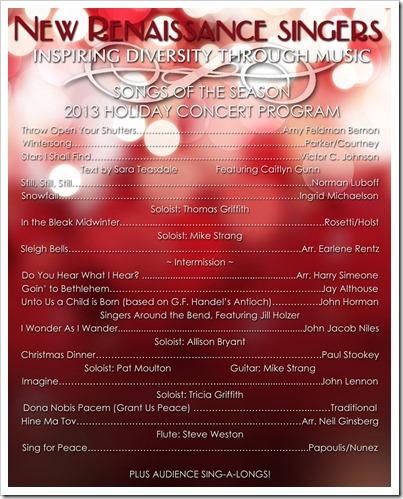 program poster